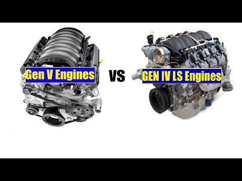 GM LT Vs LS Engines