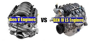 GM LT vs LS Engines