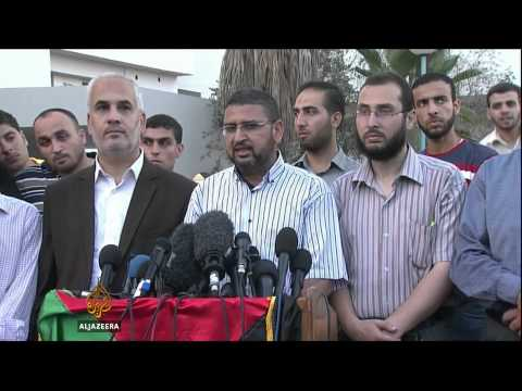 Hamas and Israel agree to ceasefire
