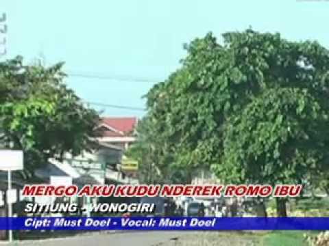 Sitiung Wonogiri - Cipt: Must Doel - Vocal: Must Doel