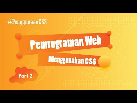 CSS Dasar : Penggunaan CSS Pada Website