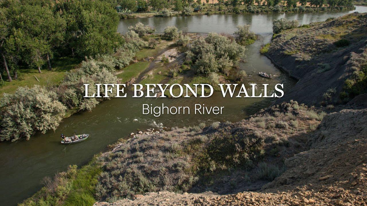 Life beyond walls bighorn river youtube for Bighorn river fishing