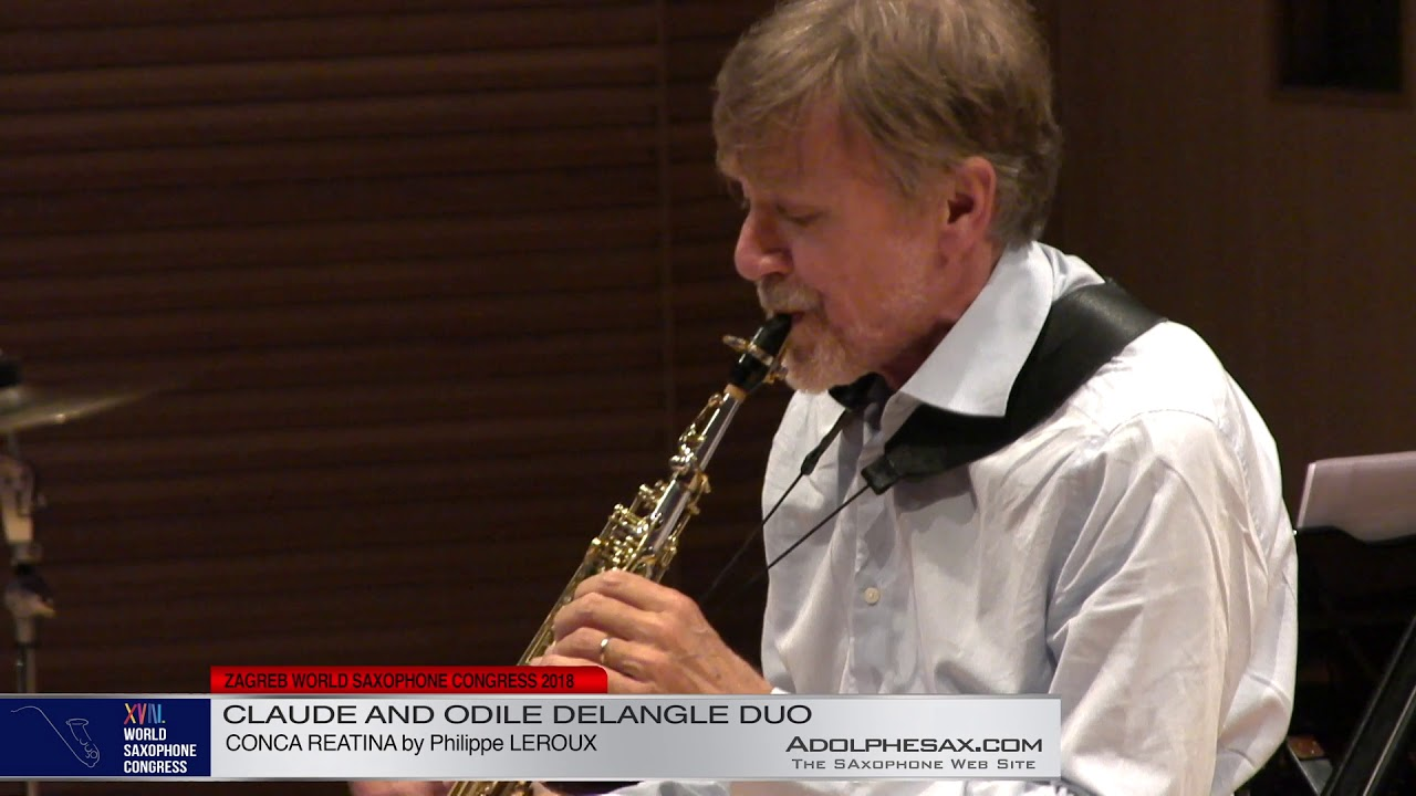 Conca Reatina by Philippe Leroux   Claude and Odile Delangle Suo   XVIII World Sax Congress 2018 #ad