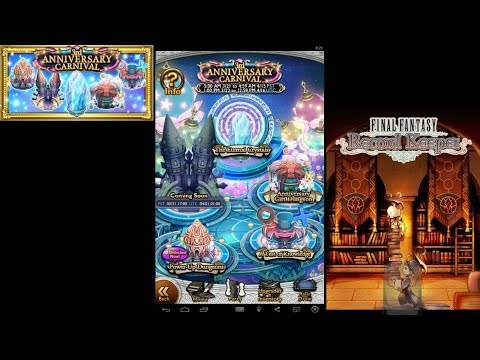 Final Fantasy Record Keeper - Third Anniversary Banner Review