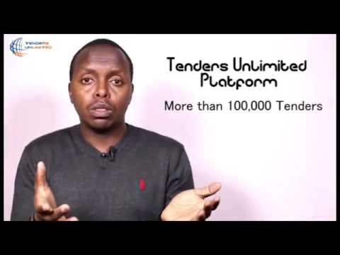 Procurement Opportunities with Tenders Unlimited