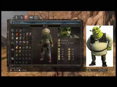 Shrek Build in Dark Souls 2: A Fun and OGREwhelming ... - photo#11