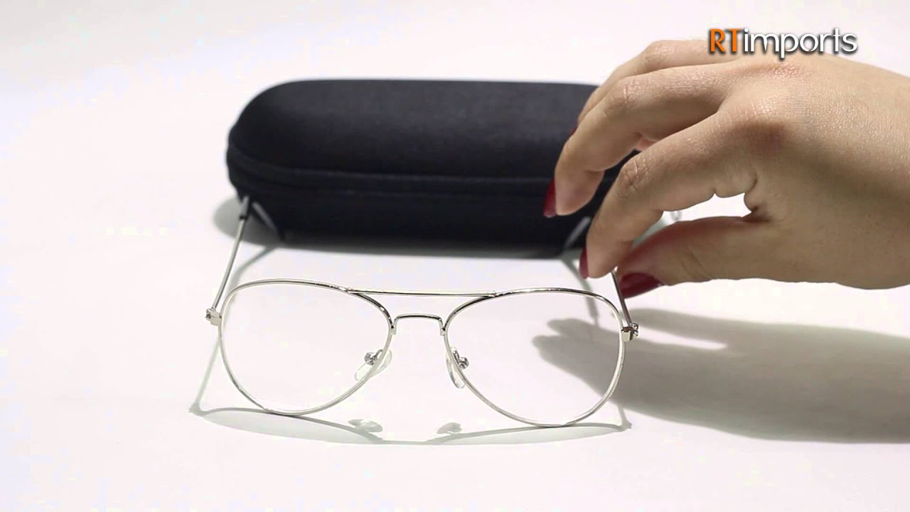 a0c1fc1c3d Armação Oculos Grau Infantil Aviador - RTimports - YouTube