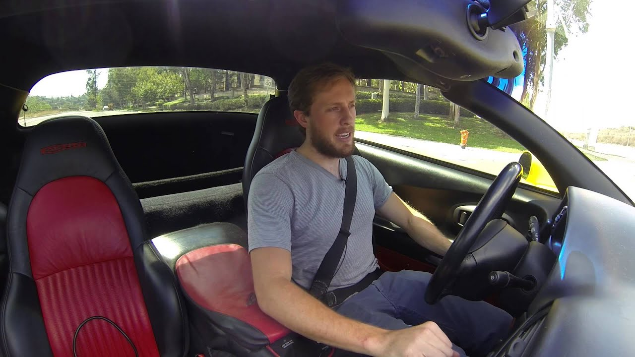 A Test Drive in the C5 Z06