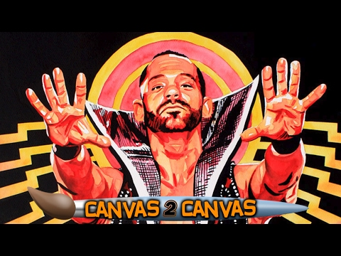 Painting a Perfect 10: WWE Canvas 2 Canvas