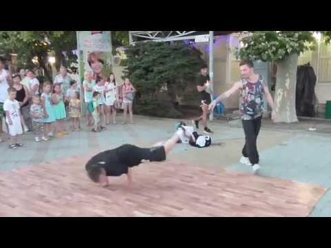 Break dance Battle - Брейк данс батл в Анапе 2016 street dance