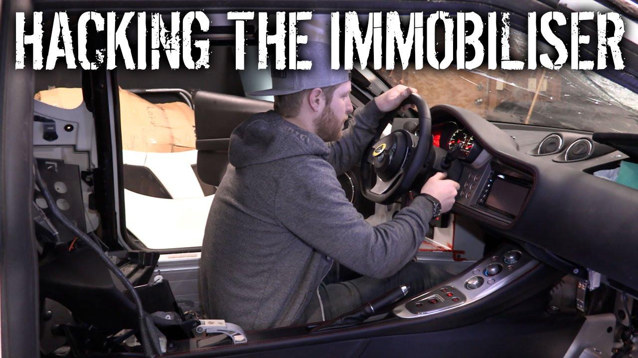 Budget Lotus Evora Pt 6 Hacking The Immobiliser Youtube Fuel Pump Inertia Switch Reset