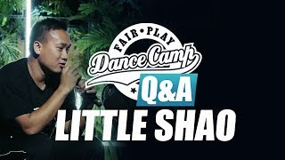 Q&A | Little Shao: 'I take everything as a challenge' | Fair Play Dance Camp 2017