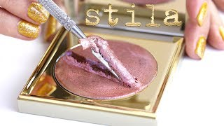 Sparkly Face Balm! Destroying Stila Shade Mystère Face Gloss | THE MAKEUP BREAKUP
