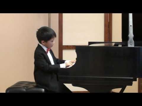 Haydn Sonata in D Major - Andrew Li at Winner's Concert