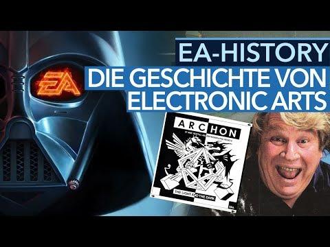 Schlimmste Firma der USA, bester Publisher der Welt - EA History - Die Geschichte von EA