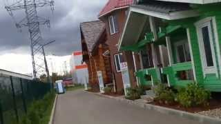 видео Строительство каркасных домов в Строгино