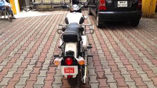 NEW ROYAL ENFIELD ASH  2015 MODEL WITH FIRRING ...