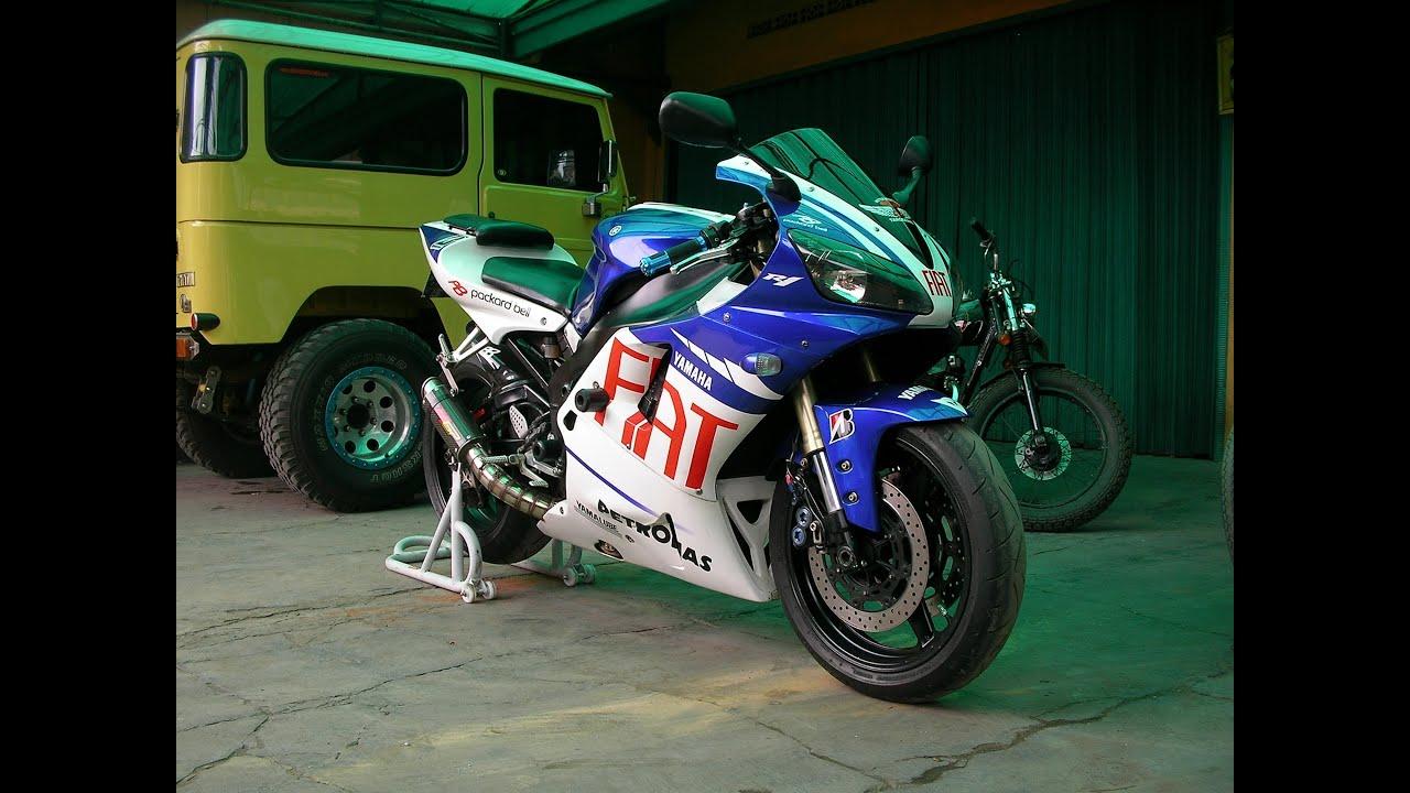 Yamaha R1 2001 FIAT EDITION - YouTube