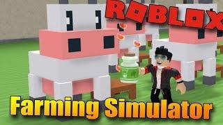 JSEM NEJLEPŠÍ FARMÁŘ V ROBLOXU?😁 | ROBLOX: Farming Simulator