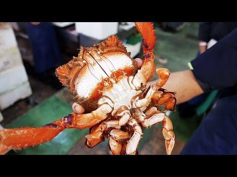 Japanese Street Food - RANINA RANINA CRAB Okinawa Japan Seafood