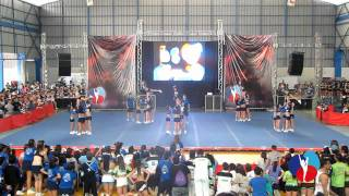 AGUILAS Junior Frost - Nacion Cheerleading 1° Fecha 2011