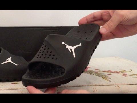 first rate 69b38 70e5b Jordan SuperFly Slides Sandals - YouTube