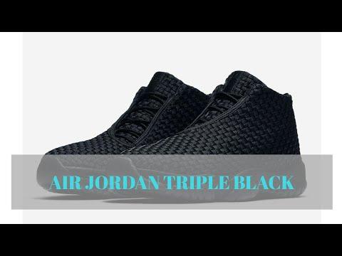 The Jordan Future Arrives In Triple Black - YouTube 4c60c1338