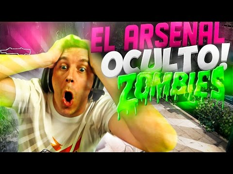 EL ARSENAL OCULTO! CUSTOM MAP BLACK OPS 3 | SWAMP