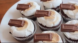 S'mores Cupcakes | Sweettreats