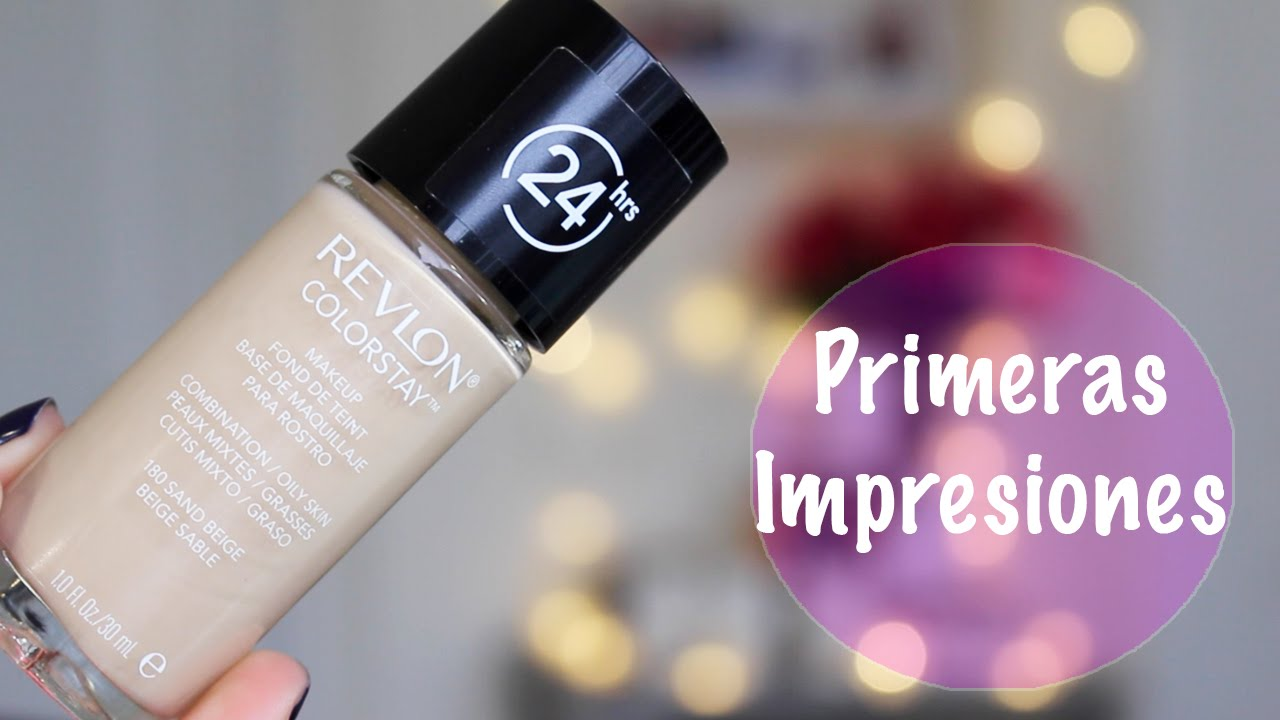 39484b750 Primeras Impresiones Revlon Colorstay - YouTube