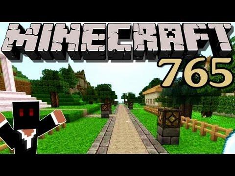minecraft---#765---zäune,-wege-und-bäume-|-debitor