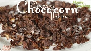 Crunchy Choco Cornflakes Recipe | Ventuno Home Cooking