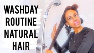 Natural 4b/4c Hair    FULL WASH DAY ROUTINE