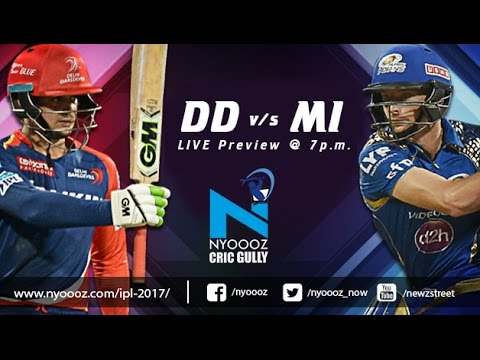 Live IPLT20: Delhi Daredevils vs Mumbai Indians match preview on Cric Gully