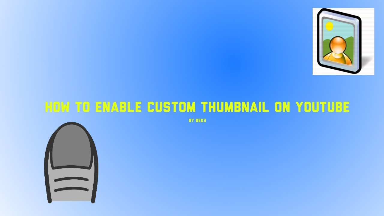 how to add a custom thumbnail on youtube 2016