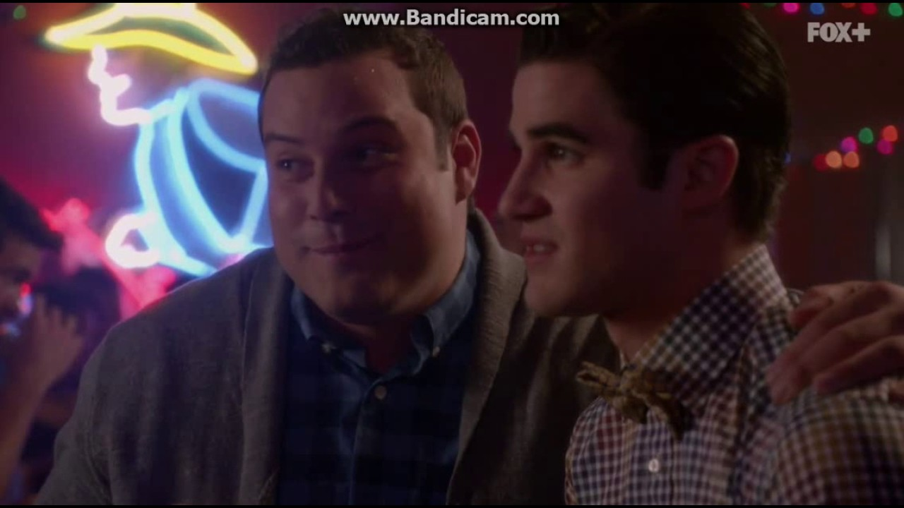 klaine dating online