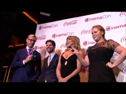 Snatched - Goldie Hawn, Amy Schumer, Paul Feig, Jonathan Levine Interview (CinemaCon)