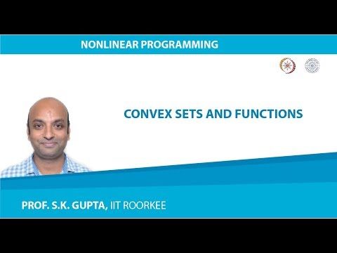 Lecture-01  Convex Sets and Functions