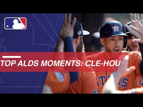 Watch the best moments of ALDS between Indians and Astros
