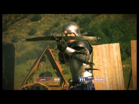 "Virginia Hankins Stunt Demo Reel - Deadliest Warrior ""Joan of Arc"" Final Fight"