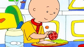 Caillou Makes a Sandwich | Caillou Cartoon