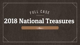 $7,000 Hit! - 2018 National Treasures Football FULL Case Break