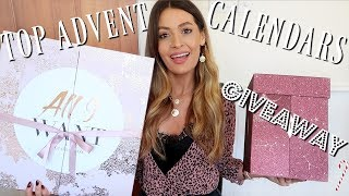 THE BEST LUXURY ADVENT CALENDARS! (beauty, gin!! candles) CHARLOTTE TILBURY GIVEAWAY!