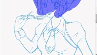 Manga Sketch #1 吉田由莉 動画 12