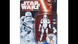 Star Wars The Force Awakens First Order Stormtrooper 3.75 Action Figure Review
