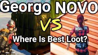 Georgopol Vs Novorepnoye | PUBG Mobile Best Loot Location