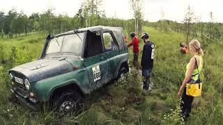 Топим Бомбический Уаз в болотах на трофи рейде 18+