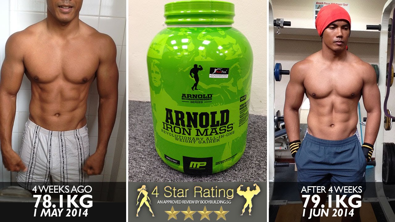 Musclepharm arnold schwarzenegger series iron mass youtube musclepharm arnold schwarzenegger series iron mass bodybuilding singapore malvernweather Gallery