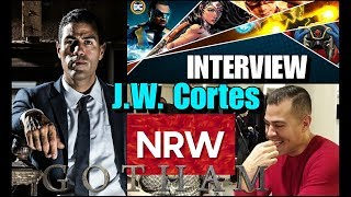 Gotham's J.W. Cortes AKA Detective Alvarez! Interview @ #DCinDC2018! #NewReleaseWednesday #NRW