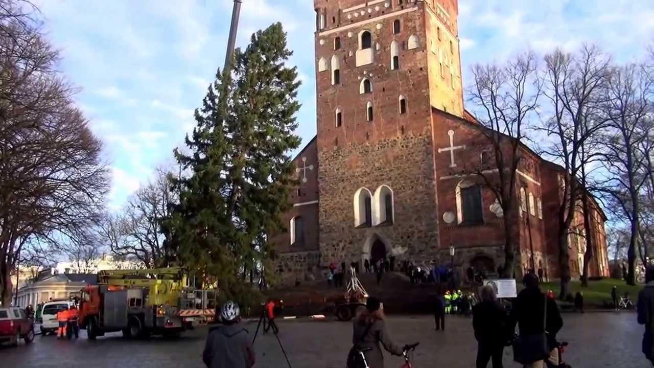 Joulukuusi Turku